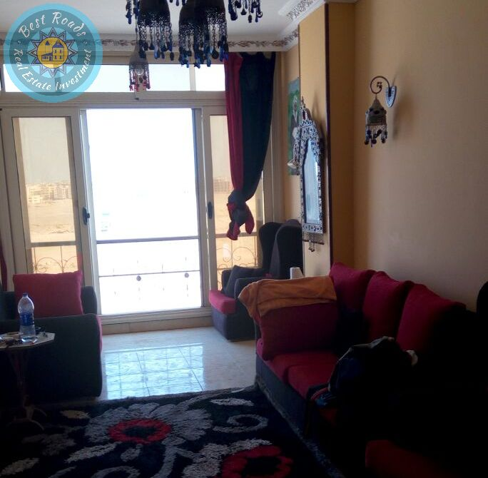 Luxury apartment for sale in Hurghada 3 bedrooms and furniture!
