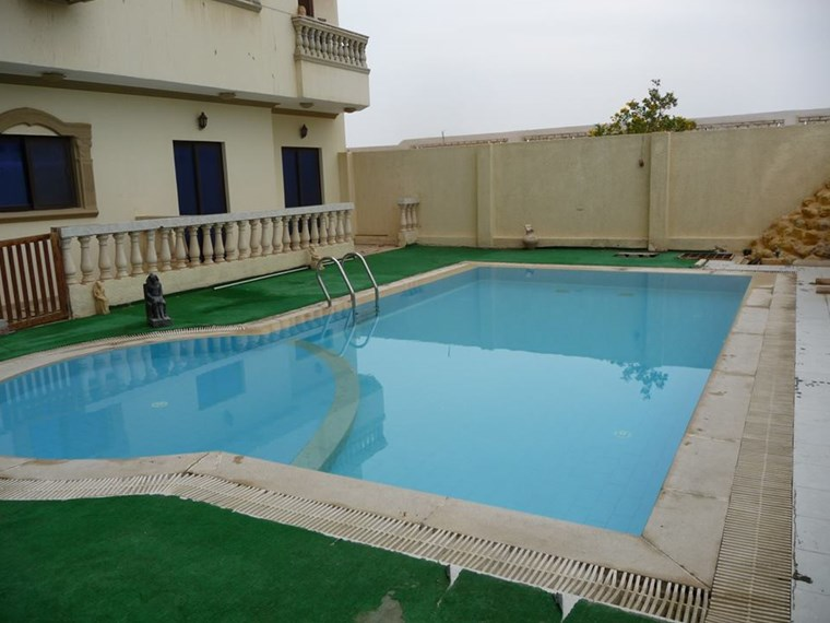 Apartment with pool. With furniture! In Hurghada, Arabia
