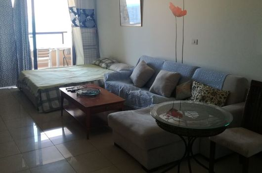 Sea view studio for sale in Hurghada with furniture in The View